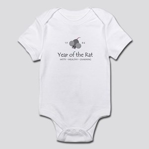 """Year of the Rat"" [1984] Infant Bodysuit"